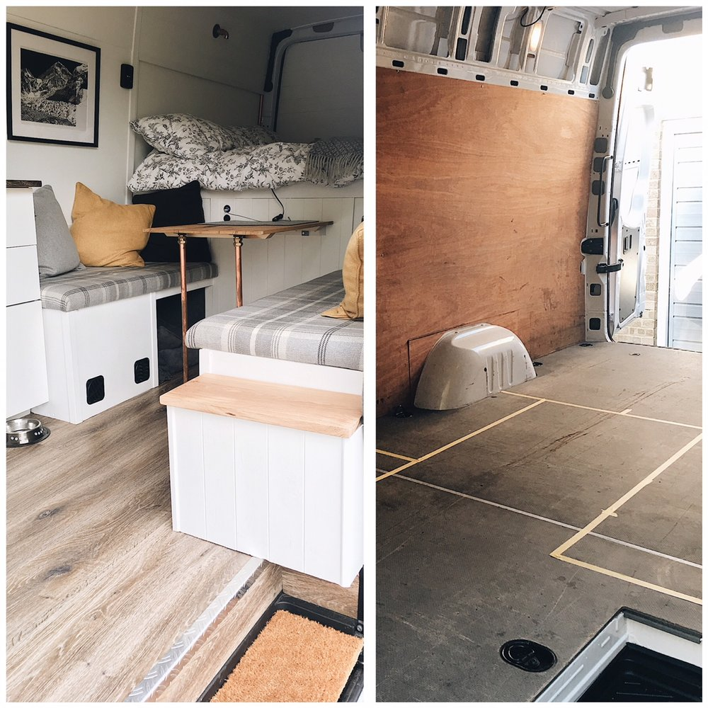Making A Van Into A Home — Brown and Bird