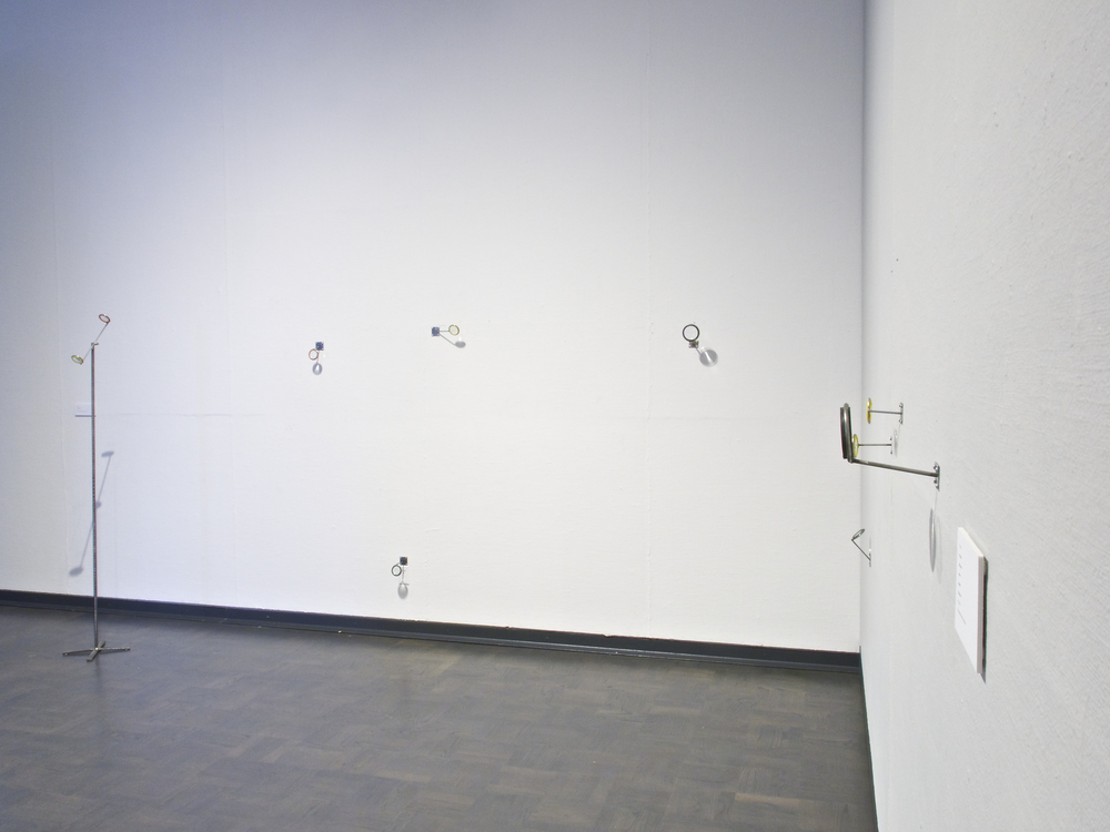 Explorations   |  Gallery Installation   |  Steel, re-bar and magnifying glass   |  2014