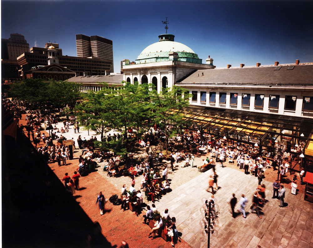 Faneuil Hall MarketPlace  Picture complements of DAIQ Architects