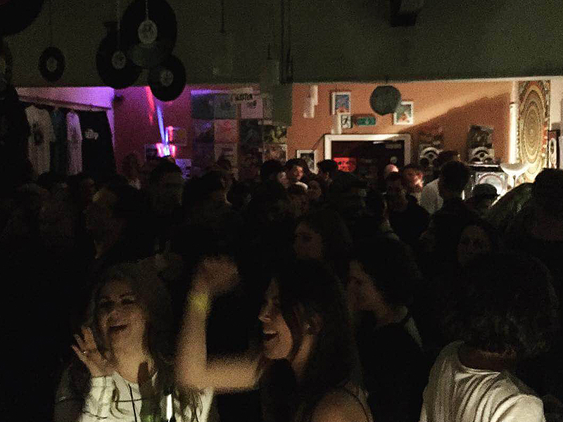 We wrapped up at the Irish Centre with a huge party from Leftback Records!
