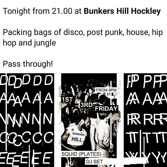 Tonight at @thebunkershill one of my fave places in Notts!  Pass through...