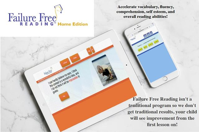 Did you know you can take #FFRHomeEdition on the go?  Why put on another mindless video or game when your child could be improving #vocabulary, #comprehension, and overall #reading abilities?! Purchase FFRHomeEdition today and find out what your child's individual reading frustration level is and start improving their reading skills and vocabulary from the first lesson!  K-12+  Ages6-Adult #readingprogram #learntoread #FailureFreeReading