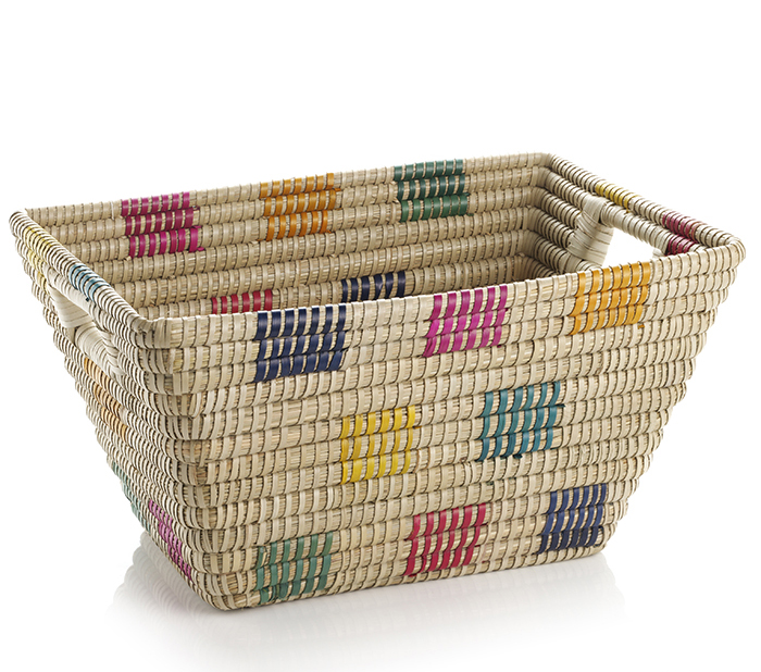 Fair Squares Rectangular Basket