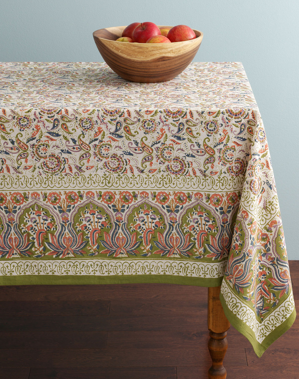 Pastoral Paisley Tablecloth