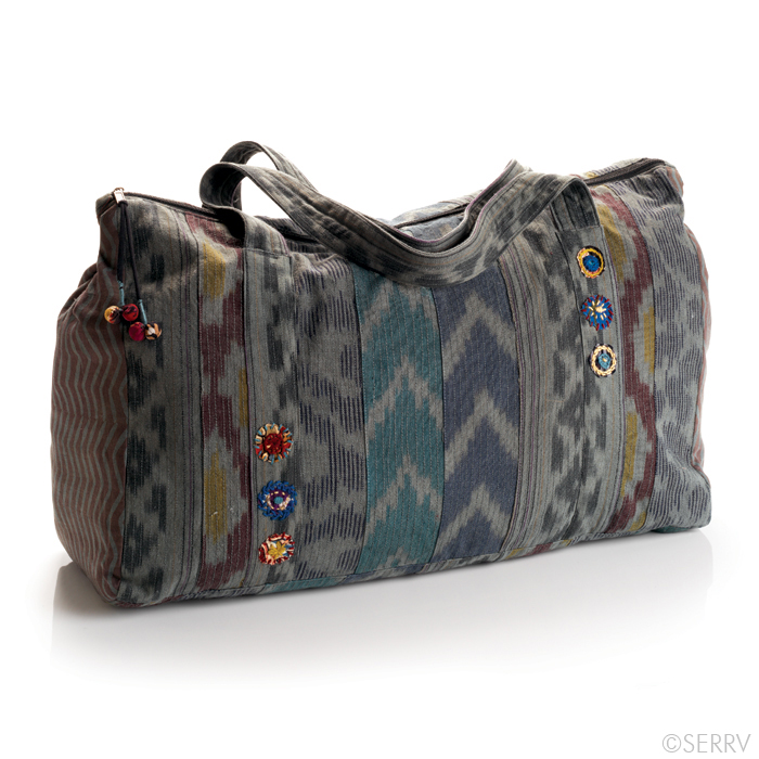 Ikat Kamla Bag, now $37.46 through August 10! (Use code SUNNY16 at checkout to receive full discount.)
