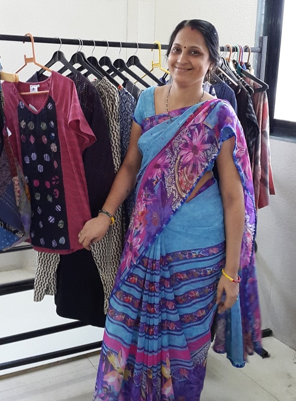 Meeka Gupta from MarketPlace, Handwork of India