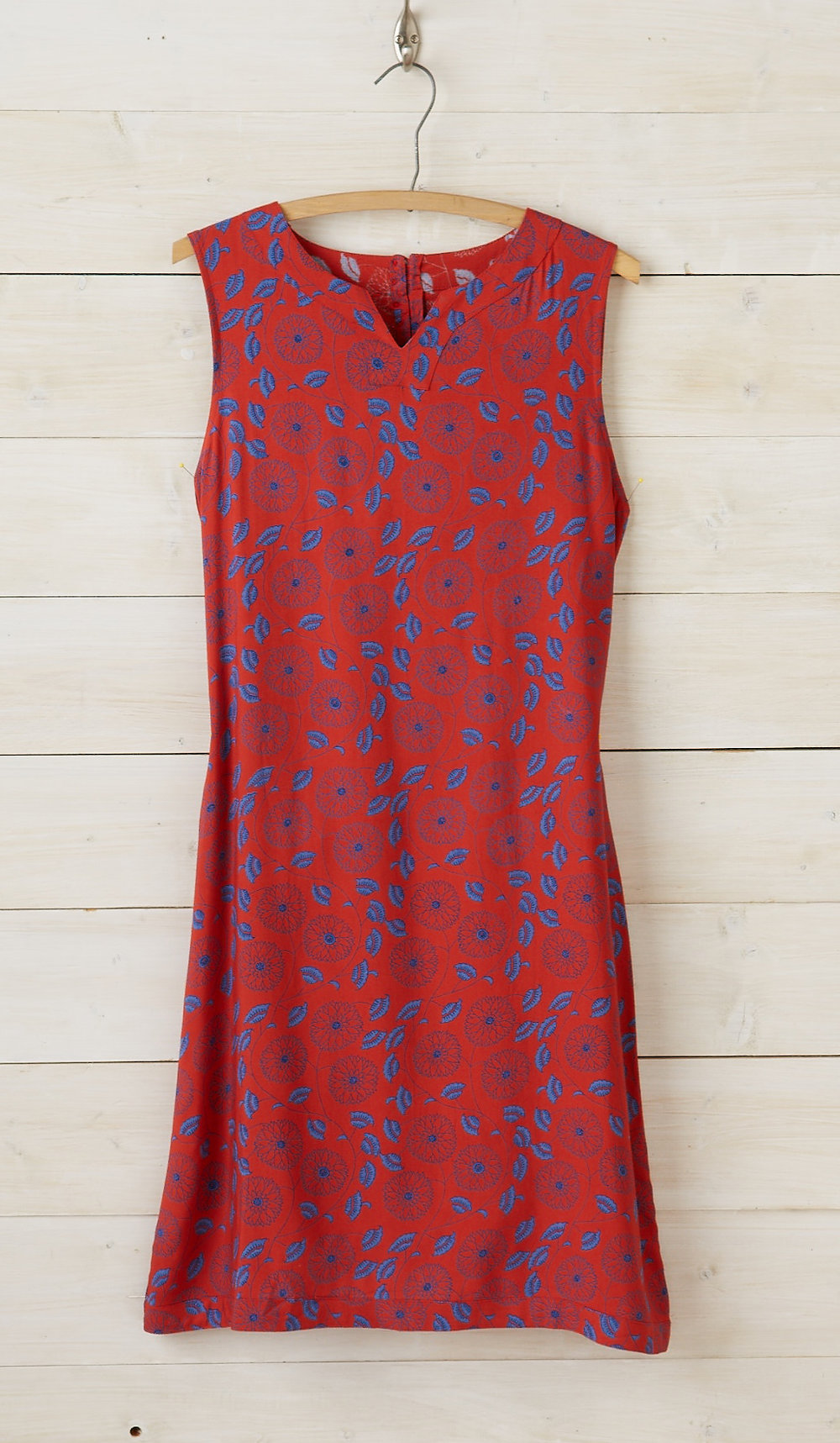 Pushpa Tie-back Shift Dress