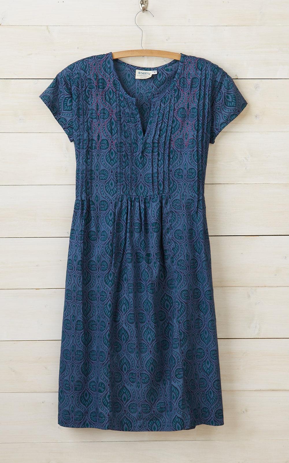 Blue Maya Dress