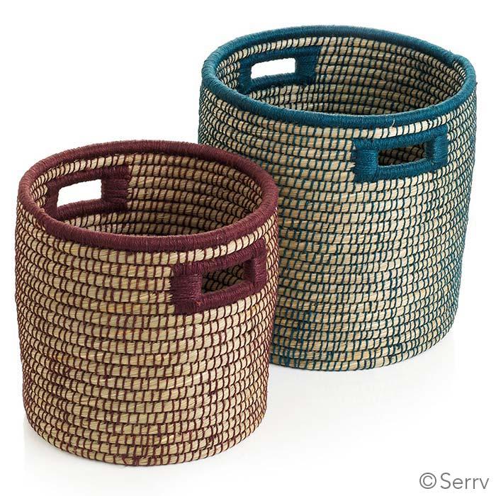 Bi-color Basket Set