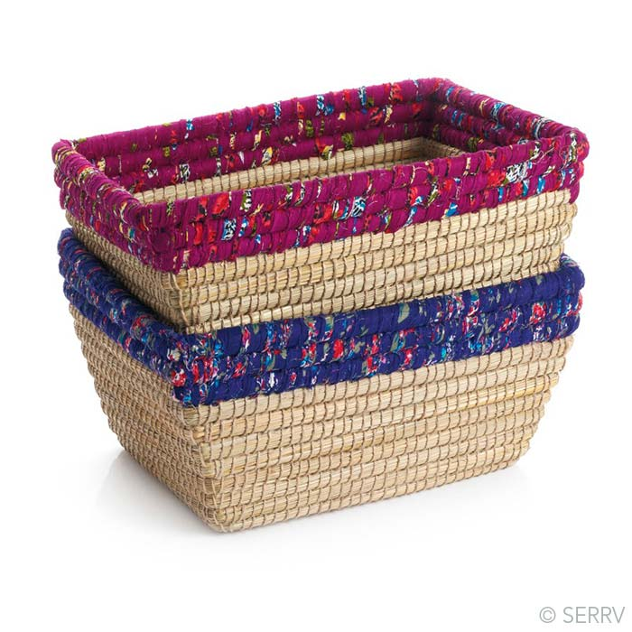 Chindi Rim Baskets