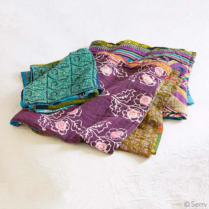 Kantha Cool Bedcover