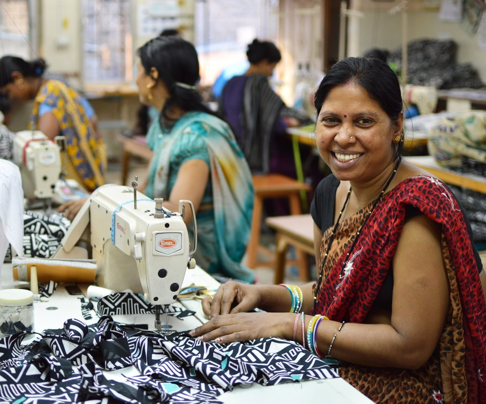 Photo source: Mata Traders, a Serrv fair trade partner in India.