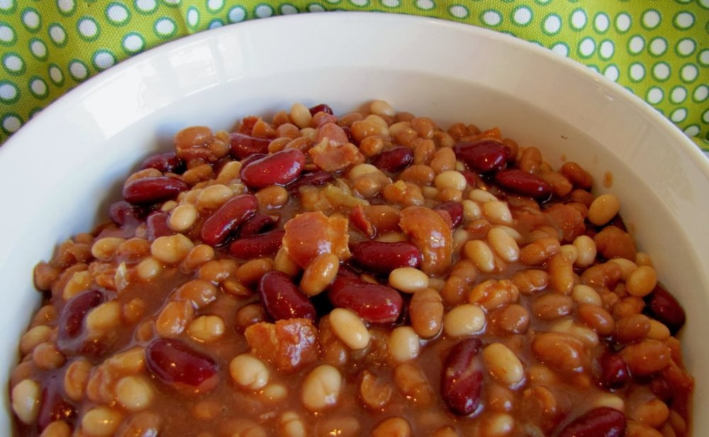 10 Bean Soup Mix adds variety to traditional baked beans. Photo: Women's Bean Project.