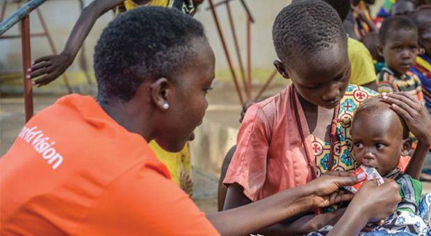 In East Africa: Our famine relief campaign got a big boost from World Vision, which provided a 7x match from all Serrv donations. Photo: World Vision.