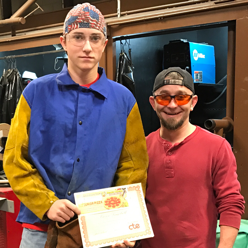 Carson Lonstreth of Beaverton - Welding Technology