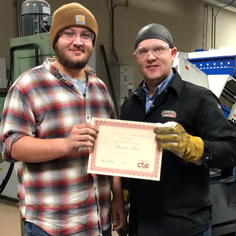Brandon Shell of Gladwin - Welding Technology