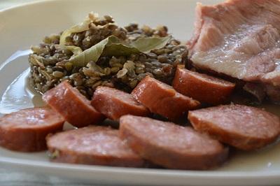 Ham Hock and Lentils