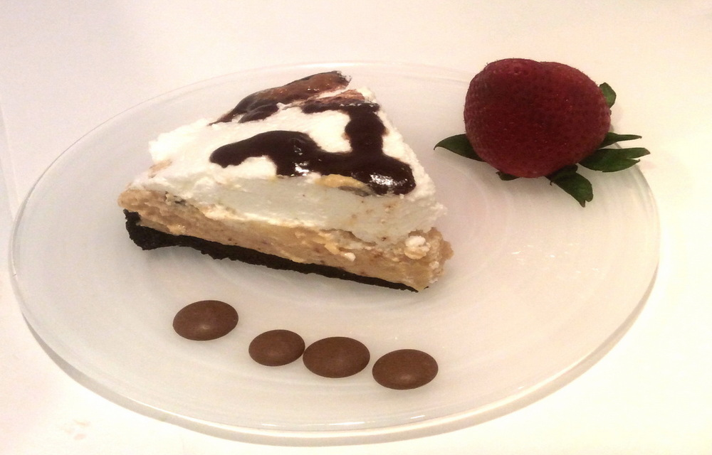 Peanut Butter Mousse Pie