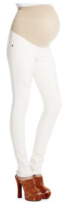 jessica simpson white maternity jeans.JPG