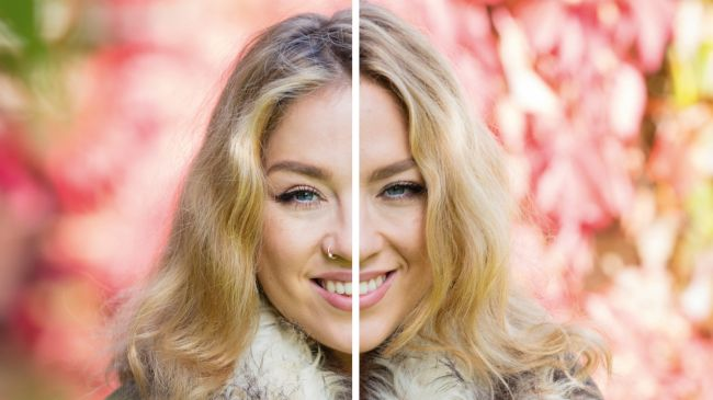 Fast lenses are ideal for portraits. The difference between f/2.8 (left) and f/5.6 (right) doesn't seem much, but the wider aperture blurs background detail much more effectively