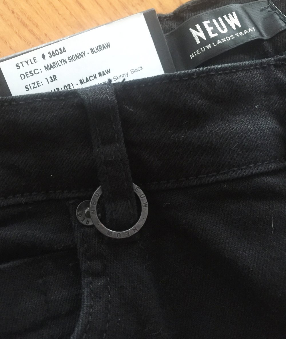 Neuw Denim Loop Detail