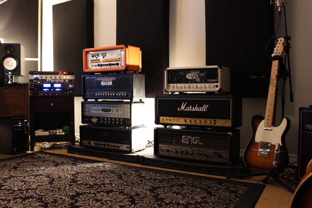 amp heads