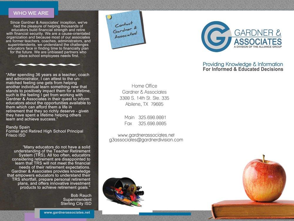Gardner & associates brochure