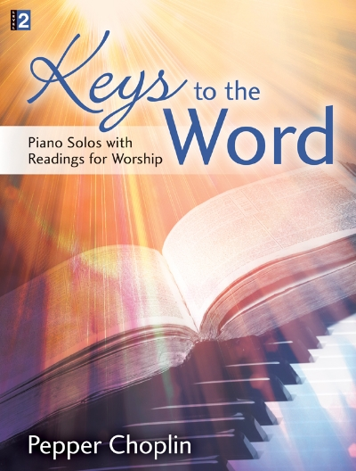 Piano solo book with optional readings