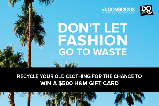 Win a $500 H&M Shopping Spree & Save the Environment in Style!