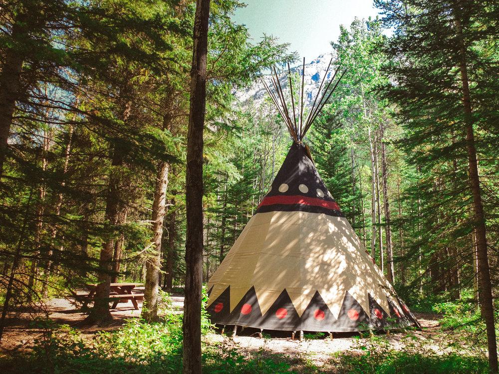 Tipis Sundance Lodges