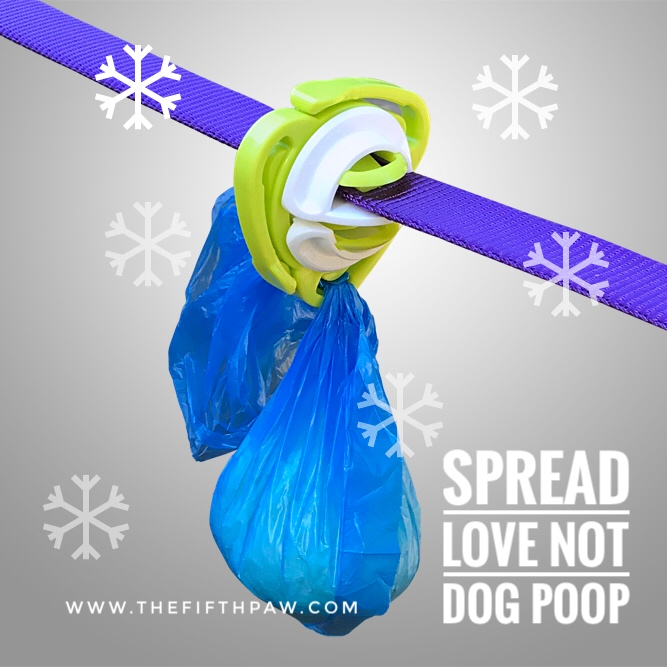 spread love not dog poop