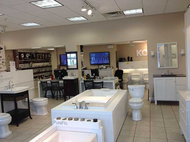 Falmouth MA Bathroom Design and Remodeling Showroom