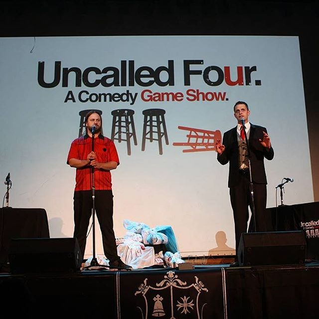 Help! I'm excited for Uncalled Four this Sunday at Comedy Works. However, it will be my first time doing the show by myself, and I can't figure out what to wear. Here's what we used to wear as a base. Joke answers appreciated.