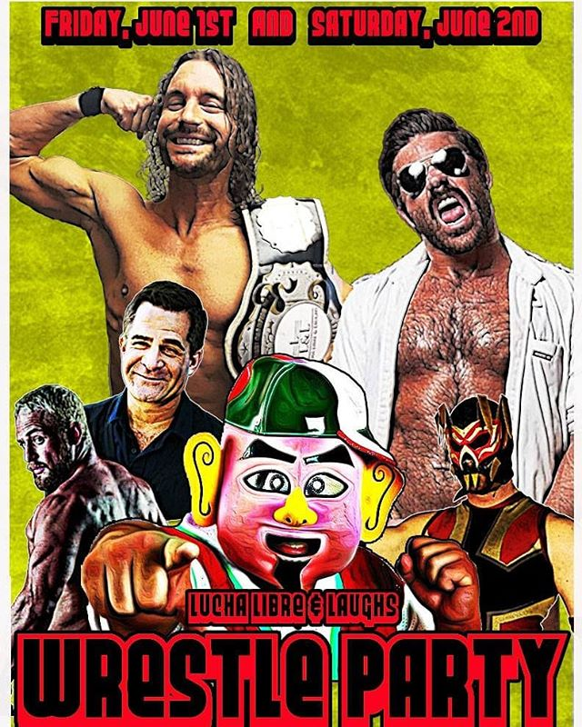 Looking forward to being a part of the Luche Libre and Laughs 5 year anniversary wrestle party. Last show in Denver before I head to Alaska!