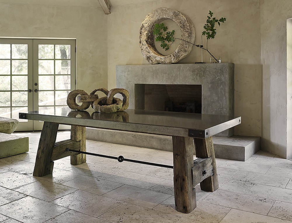 TablesArtefact Design Salvage - Custom made concrete table