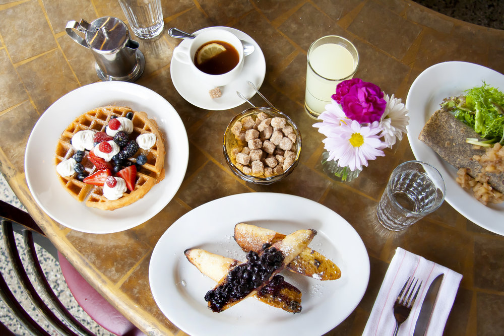 Brunch at Barbette; Photo provided by Barbette