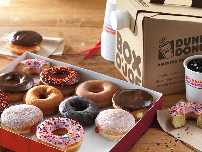 Photo provided by Dunkin' Nonuts