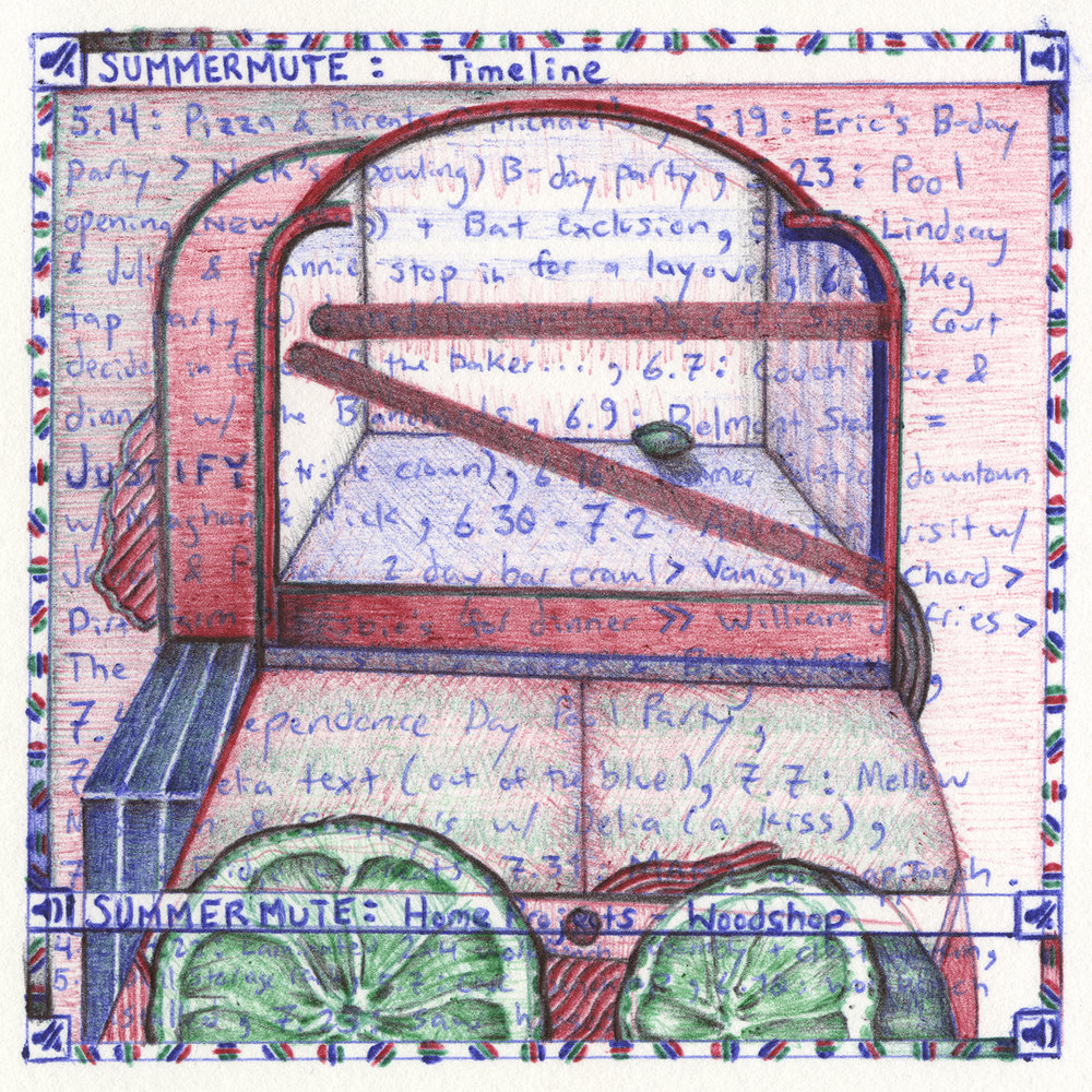Quilt Square _ 93 (after Miyoko Ito)