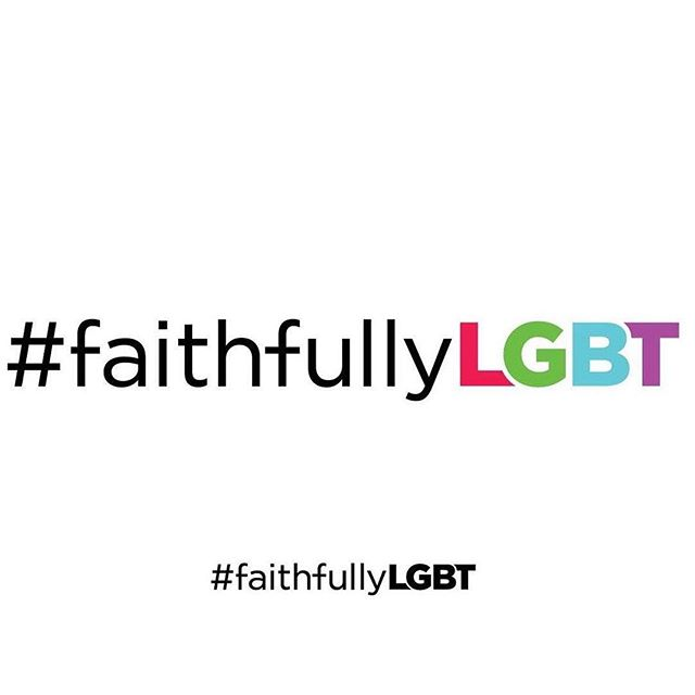 Two years ago today we debuted the logo for a hashtag that brought a community together. Excited for everything else #FaithfullyLGBT will debut and bring in the coming years.  Designed by @matthiasroberts