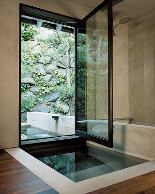 japanese inspired bathroom