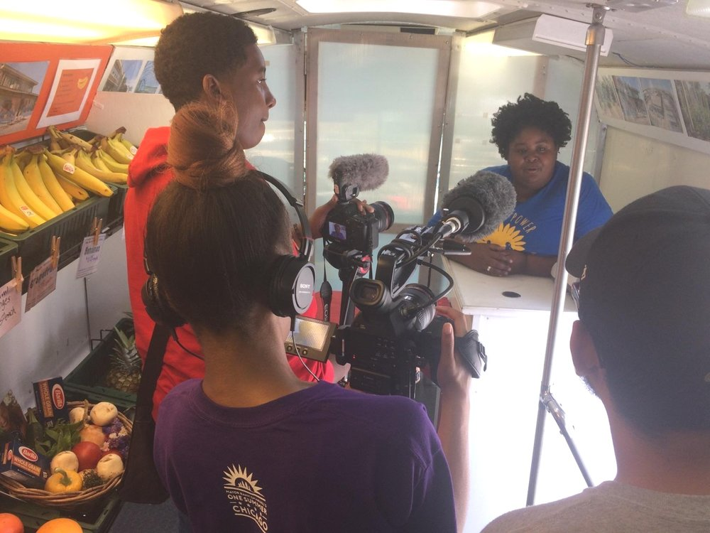 Fresh moves bus documentary filming with TRACE