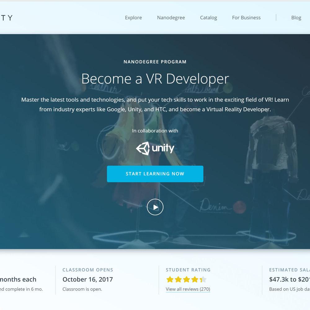 UdacityVR Homepage.jpg