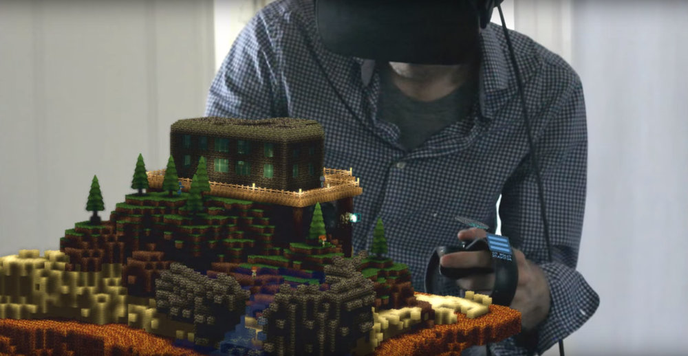 Making a Multiplayer Voxel Island Game -