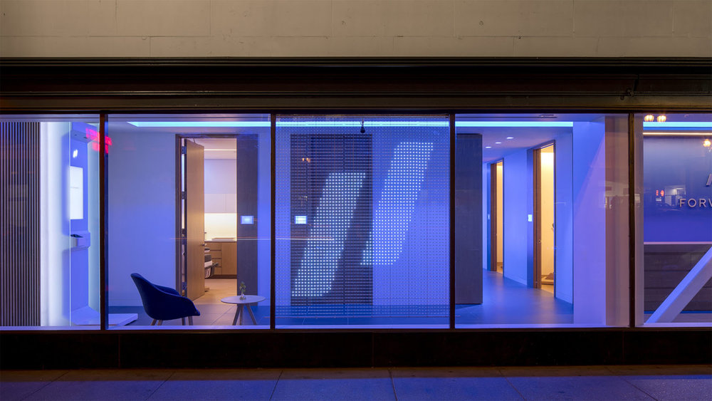 Creating an Interactive Transparent LED Storefront -