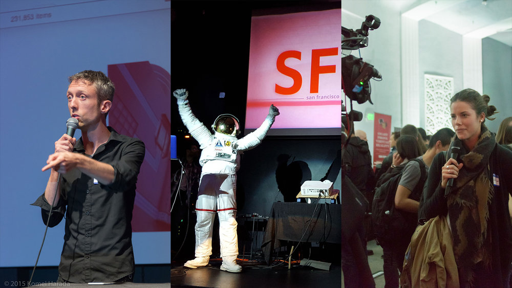 Fun, Educational Events - SFVR focuses on three things: interesting conversations, educational presentations, and VR demos.