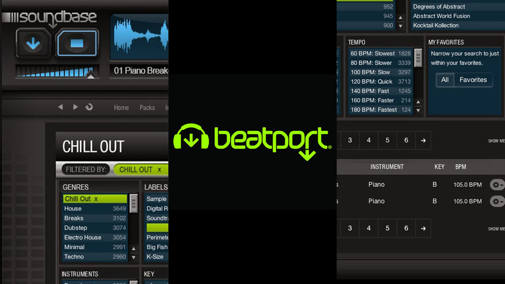 Professional Instrument - After Beatport acquired the company, we integrated the world's largest sample company into the instrument. Also, we rebranded the product as Soundbase.