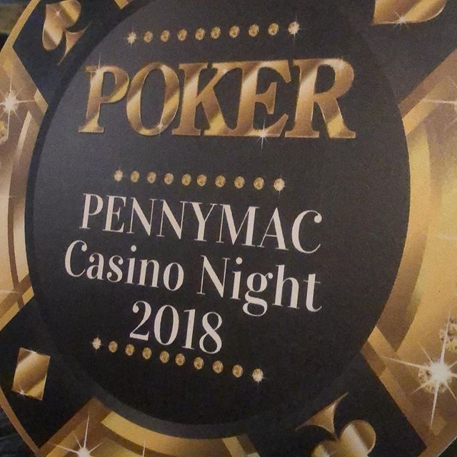 Pennymac holiday party 2018 was a success  #casinonight #poker #officeparty