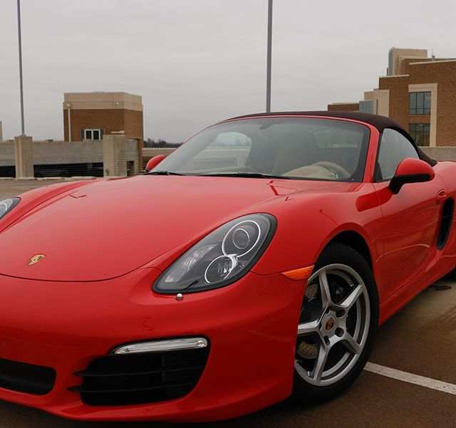 Christmas came a little late this year but it was worth it. Welcome to the family! #porsche #worthit