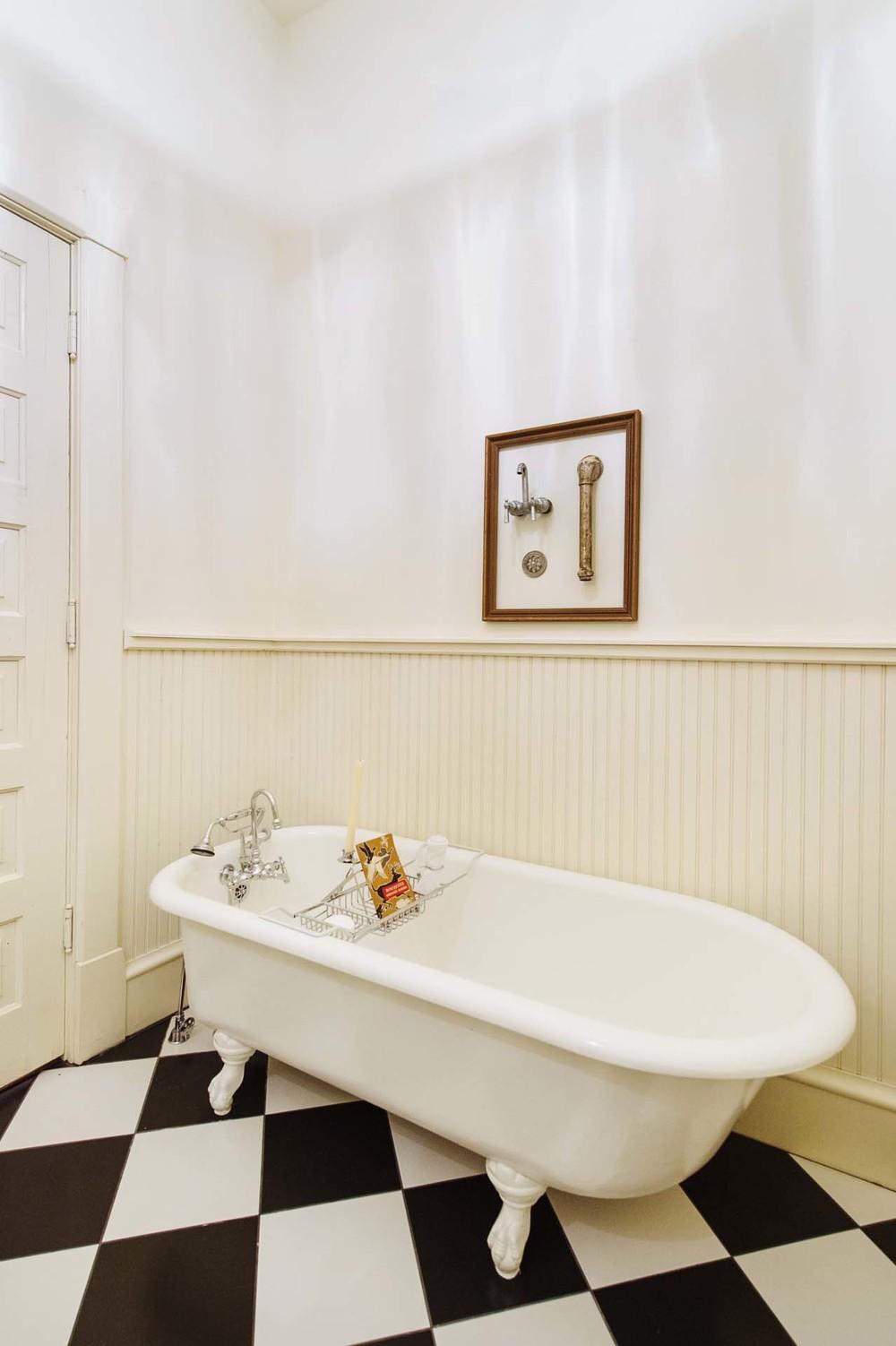 Bathroom & Laundry — The Morgan-Ford House