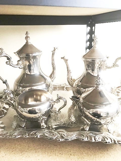 Silver Coffee/Tea Set